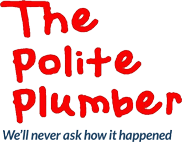 The Polite Plumber logo